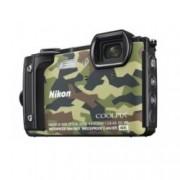 """Nikon Coolpix W300(камуфлаж) в комплект с чанта Nikon, 4x оптично увеличение, 16 Mpix, 3.0"""" (7.62cm) TFT дисплей, Wi-Fi, SD слот, microHDMI Type D, microUSB 2.0 Type B, водоустойчив до 30м"""