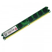 Ram Barrette Mémoire TRANSCEND 1Go DDR2 PC2-6400U 800Mhz JM800QLU-1G Low profile