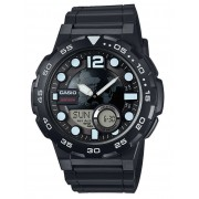 Ceas barbatesc Casio AEQ-100W-1AVEF Collection 48mm 10ATM