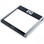 Електронен кантар Beurer GS 485, Стъклен, Bluetooth, HealthManager App, LCD дисплей, измерва AMR/BMR и BMI