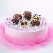 Forma din silicon pentru ciocolata sau cuburi de gheata-Pisicute