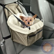 Scaun auto pentru caini in masina