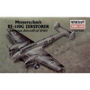 Messerschmitt bf-110 G Zerstorer : 1:144 scale : Plastic Model Kit by Academy Models