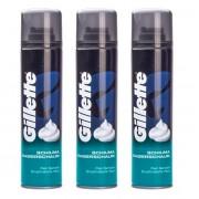 Gillette Scheerschuim Gevoelige Huid 3 x 300ml