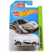 2015 Hot Wheels Hw Workshop - McLaren P1 (Silver)