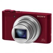 Fotoaparát Sony DSC-WX500, 18,2Mpix, 30xOZ, FullHD, WiFi, červený