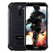 DOOGEE Smartphone sólido S40 4G Android 9.0 sólido 5.5 '' HD (Gorilla Glass 4) IP68 / IP69K impermeable al aire libre DUAL SIM Teléfono móvil militar, 4650mAh batería, Quad-Core 1.5GHz 3GB + 32GB, NFC,
