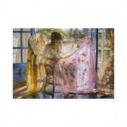 Educa Vicente Romero, Rózsaszín kendő puzzle, 2000 darabos