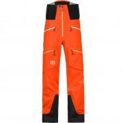 Ortovox Men Pants Guardian Shell crazy orange