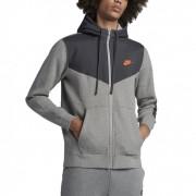 Hanorac barbati Nike Full-Zip Basketball Hoodie 931900-063