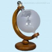 Globus - pískovaný