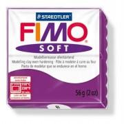 Gyurma, 56 g, égethető, FIMO Soft, bíborlila (FM802061)