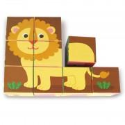 9 Cuburi Animale Melusine Vilac pentru copii