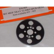 RW 48 DP Xray T4 offset Supa-lite Spur Gear 80 Tooth