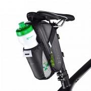 ROCKBROS Cycling Bicycle Saddle Bag Pannier MTB Road Bike Rainproof Bike Rear Bag With Water Bottle Pocket Seat Bag Tail Storage