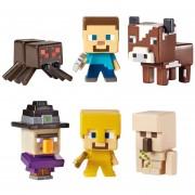 Minecraft Surtido De Figuras De Accion Básicas Mattel