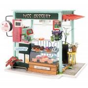 Casa De Muñecas 3D Estación De Helados Mini Robotime
