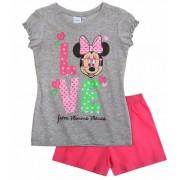 Pijama Minnie gri 3899