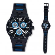 Orologio swatch susb410 da uomo black spy