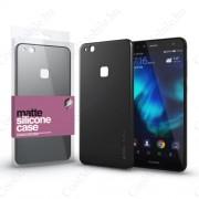 Xprotector Szilikon matte tok ultra vékony fekete Huawei P10 Lite készülékhez