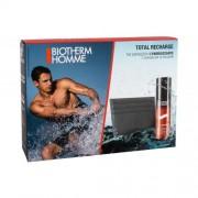 Biotherm Homme Total Recharge Non-stop Moisturizer set cadou Crema pentru barbati 50 ml + portcard pentru bărbați
