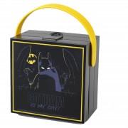 Lego Porta alimentos Lunch Box con Asa LEGO Batman - Negro