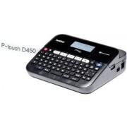 Brother P-Touch PT-D450VP - Etikettenmaker - monochroom - thermische overdracht - Rol (1,8 cm) - 180 dpi - tot 30 mm/sec