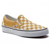 Teniși VANS - Classic Slip-On VN0A38F7VLY1 (Checkerboard) Yolk Yello