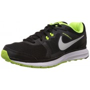Nike Men's Zoom Winflo Black,Metallic Silver,Volt,Dark Grey Running Shoes -6 UK/India (40 EU)(7 US)