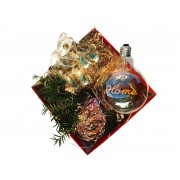 Cutie Cadou Luminos: Ghirlanda din Cupru Colorata, Ghirlanda cu Borcanele si Bec Mare Home