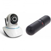 Mirza Wifi CCTV Camera and Facebook Bluetooth Speaker for LG OPTIMUS L5 DUAL(Wifi CCTV Camera with night vision |Facebook Bluetooth Speaker)