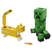 LEGO Minecraft 21156 BigFig Creeper™ és Ocelot