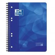 Caiet cu spirala A5+, OXFORD School Projectbook, 120 file-90g/mp, 6 perf., coperta PP - dictando