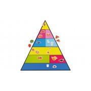 Betzold Lebensmittelpyramide und 50 Bilder, magnetisches Set