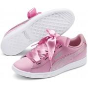 Puma Vikky Ribbon Satin Jr Sneaker, Pink 39