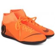 Nike SUPERFLY 6 CLUB IC Motorsport Shoes For Men(Orange)