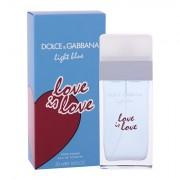 Dolce&GaBBana Light Blue Love Is Love toaletní voda 50 ml pro ženy
