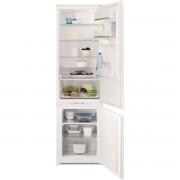 Combina frigorifica incorporabila Electrolux ENN3153AOW, 292 l, A+, Electrovalva, LCD, H 184.2 cm, Alb