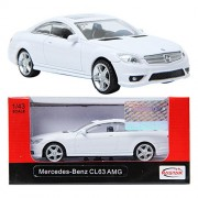RASTAR Mercedes-Benz CL63 AMG White 1:43 Die-cast CAR minicar Toy