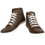 Yellow Tree 0025 High Ankle Dark Brown HA Designer Casual Boot Shoes For Mens Boy's