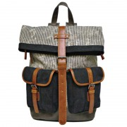 Licence 71195 Jumper II Canvas Backpack Bag Grey LBF10778-GY