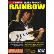 Roadrock International Lick Library: Learn To Play Rainbow DVD