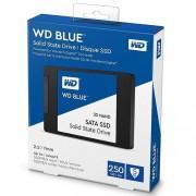 SSD 250GB WESTERN DIGITAL Blue WDS250G2B0A, 2.5″, 7mm, SATA 3