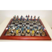 Texas- Mexikó sakk készlet