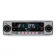 Auna RMD-Sender-Two autoradio Bluetooth USB CD MP3 -argent