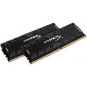 Memorija Kingston 8 GB Kit (2x4 GB) DDR4 3200 MHz XMP HyperX Predator Black, HX432C16PB3K2/8