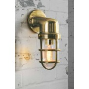 My-Furniture Lampe murale industrielle laiton Tristan