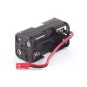 Suport receptie baterii 4xAA Etronix, pentru automodele nitro