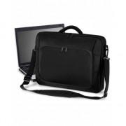 Quadra Laptop schoudertas 10 Liter zwart