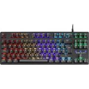 Mars Gaming MKXTKL Mechanical RGB Gaming Keyboard(Red), C